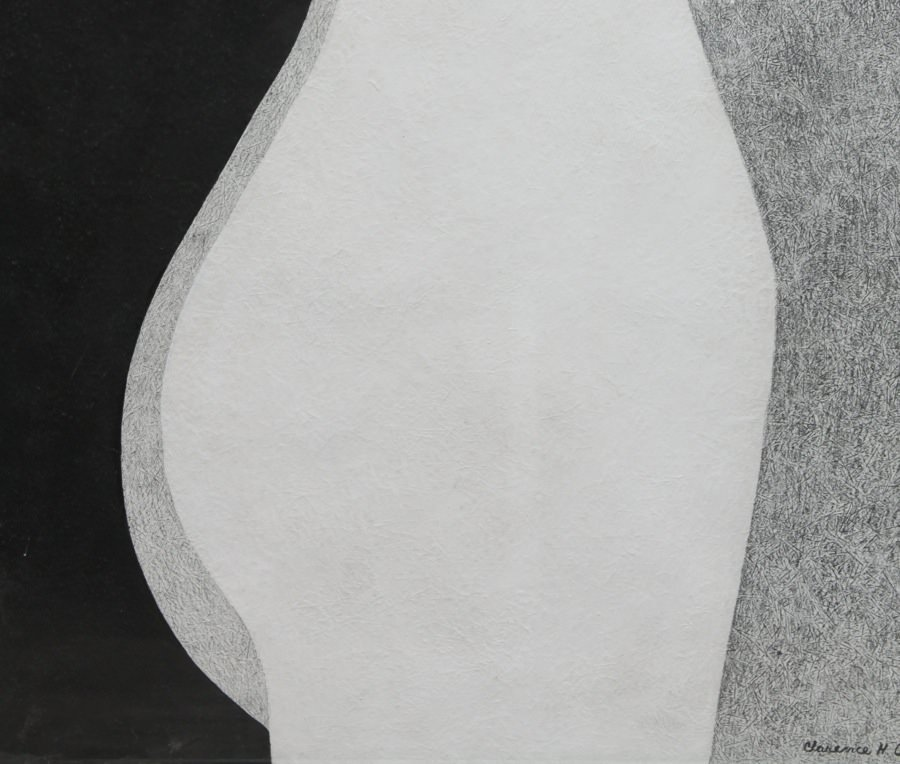 Torso, Black and White by Clarence Holbrook Carter
