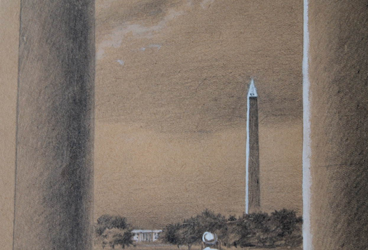 Washington Monument by Clarence Holbrook Carter