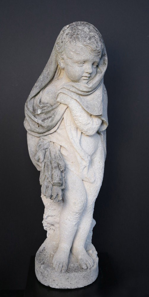 Cherub as the personification of Winter by 20th Century American School