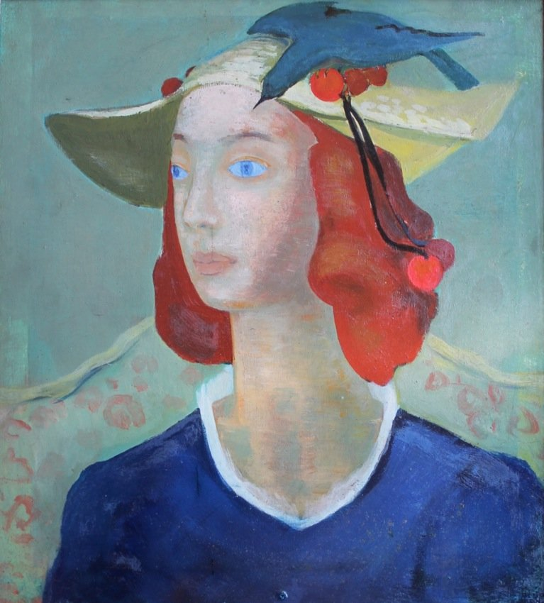 Portrait of a Woman by Catherine J. Barnes
