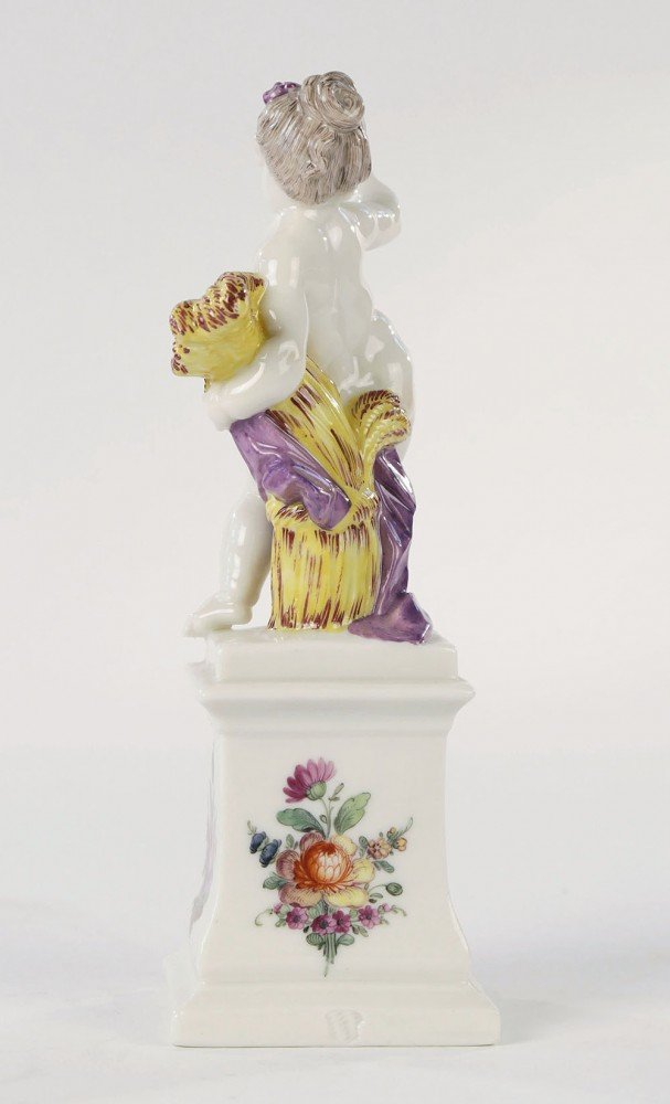 Nymphenburg Porcelain Figure Emblematic of Summer