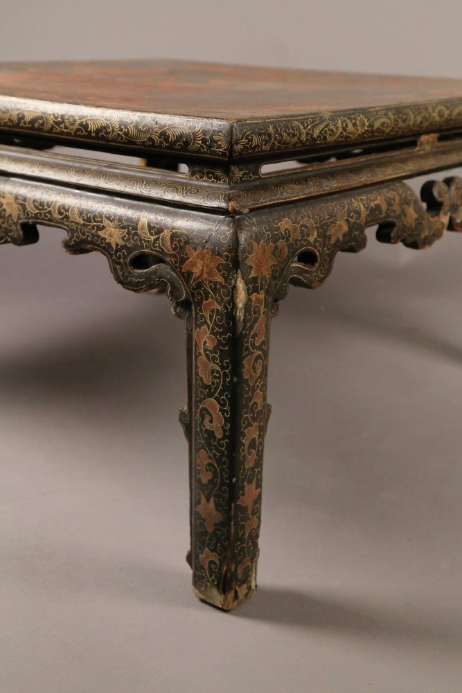Decorative Arts: A Chinese Lacquer Low Table