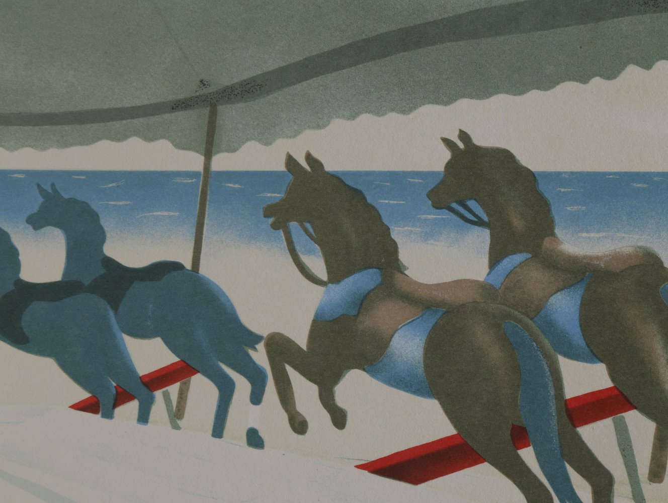 Carousel by the Sea by Clarence Holbrook Carter