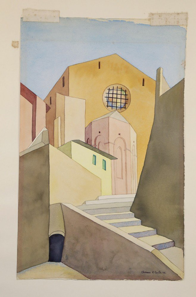 Siena Steps by Clarence Holbrook Carter