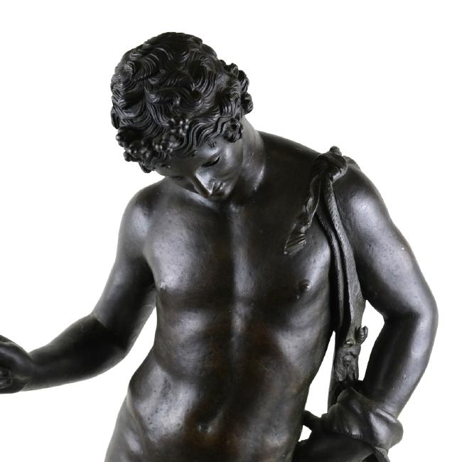 Grand Tour Bronze Sculpture of Dionysus by Chiurazzi (Foundry)