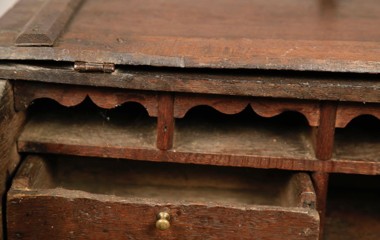 Oak Decorative Art: An English Oak Clerk's Desk
