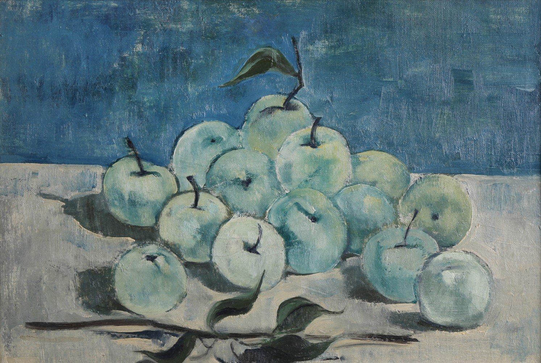 Still Life Oil on Canvas Painting: