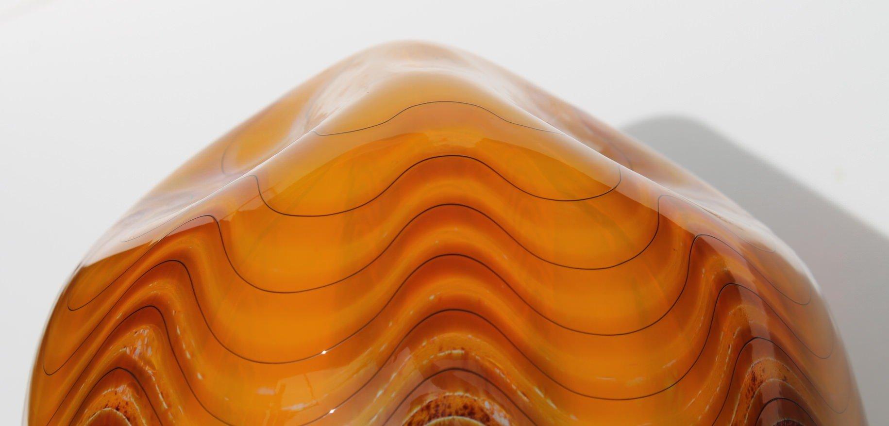 Cinnamon Macchia No. 388 by Dale Chihuly