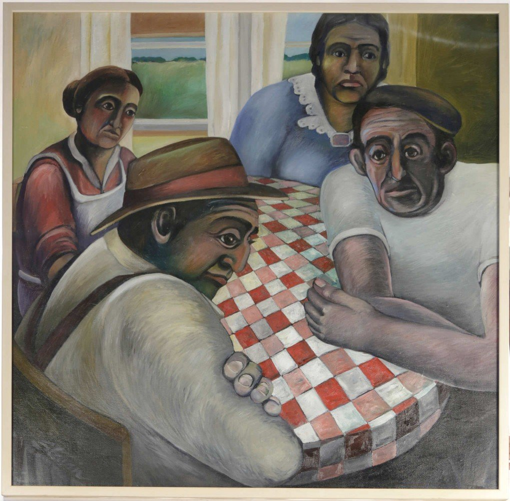 The Kitchen Table by 20th Century American School