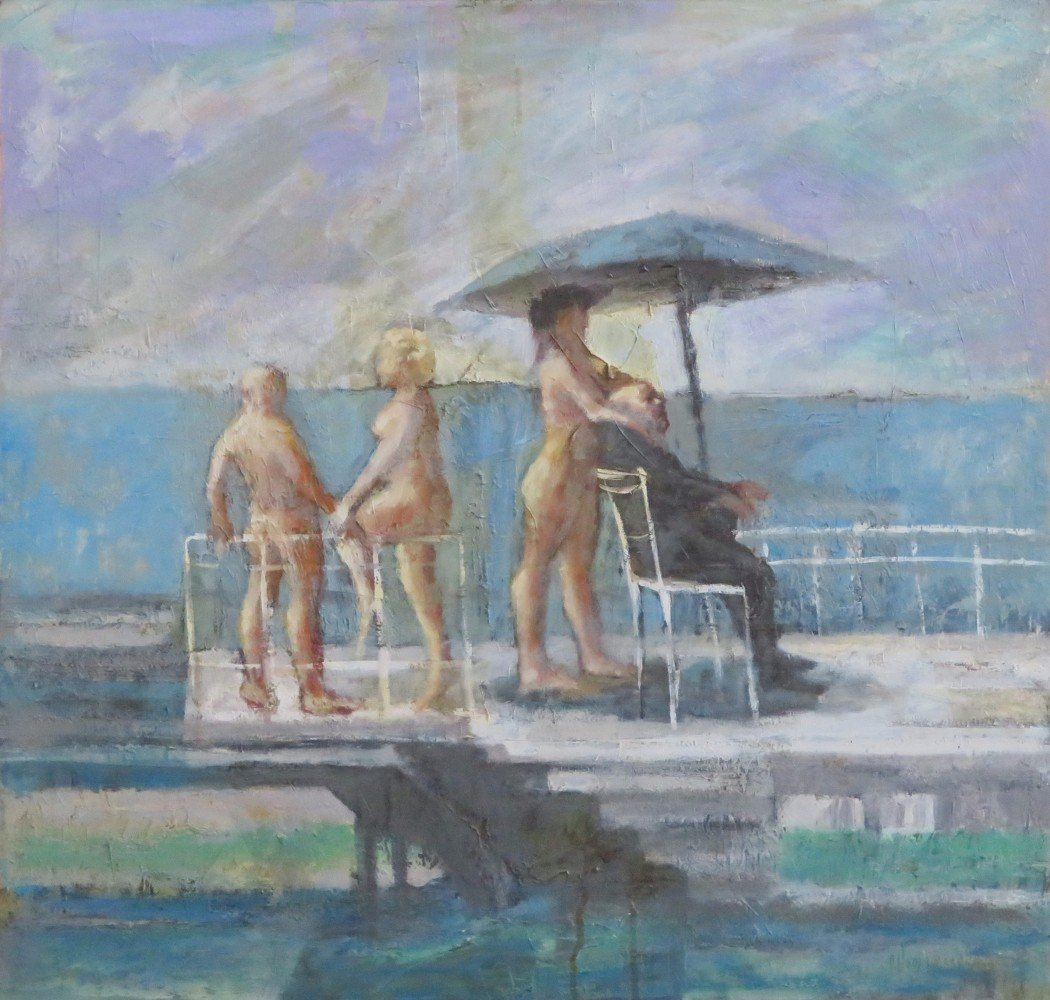 Vacationers II  by Daniel Hodermarsky