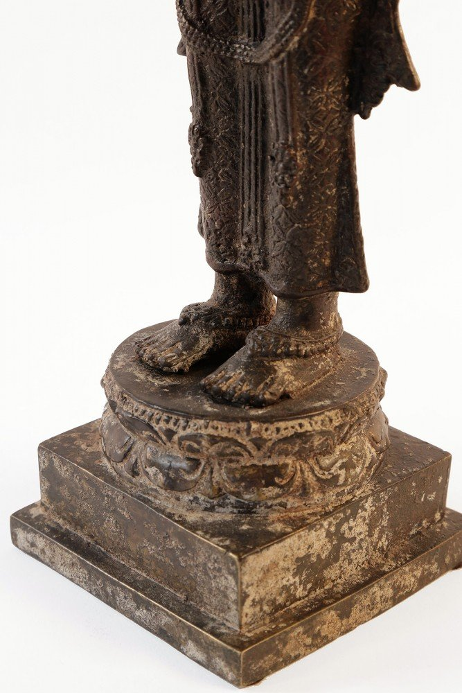 Bronze Rice Goddess by 15th/16thc. Javanese