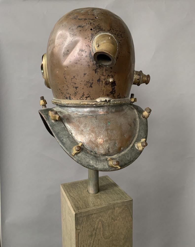 Brass and Copper Sculpture: