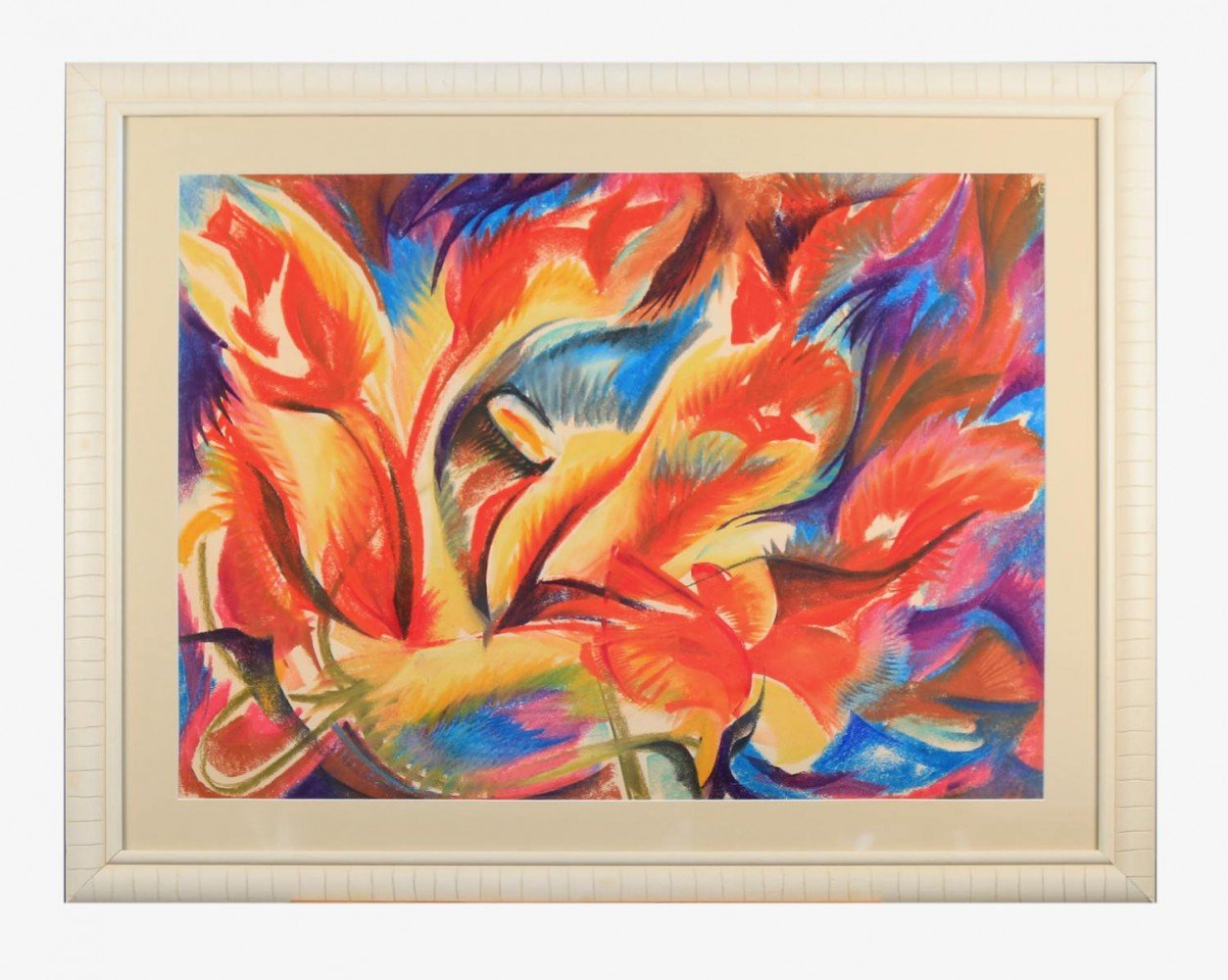 Flower Composition by Clarence Van Duzer