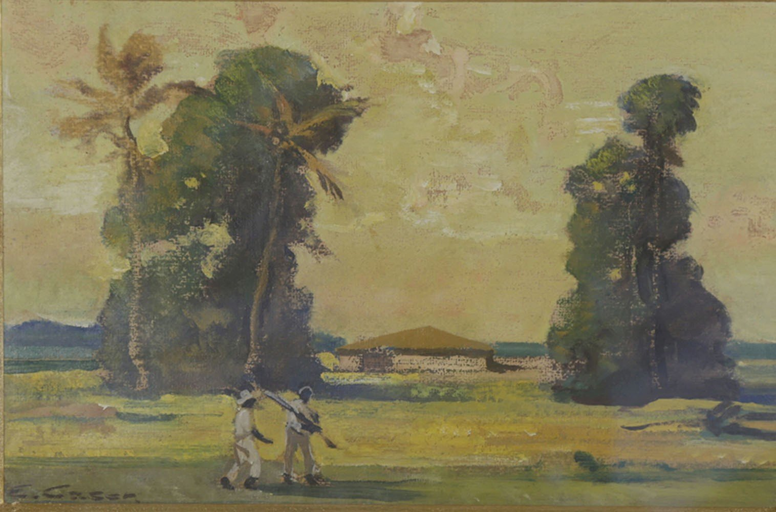 Cuban Plantation by Ettore Caser