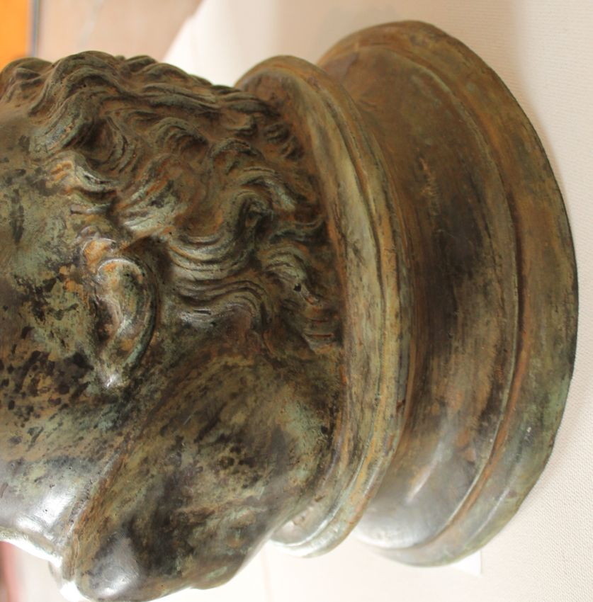 Early 19th Century Italian Bronze Fountain Heads