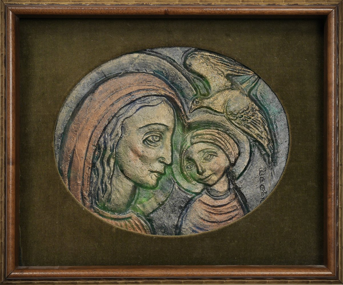 Mother and Child I by Edris Eckhardt