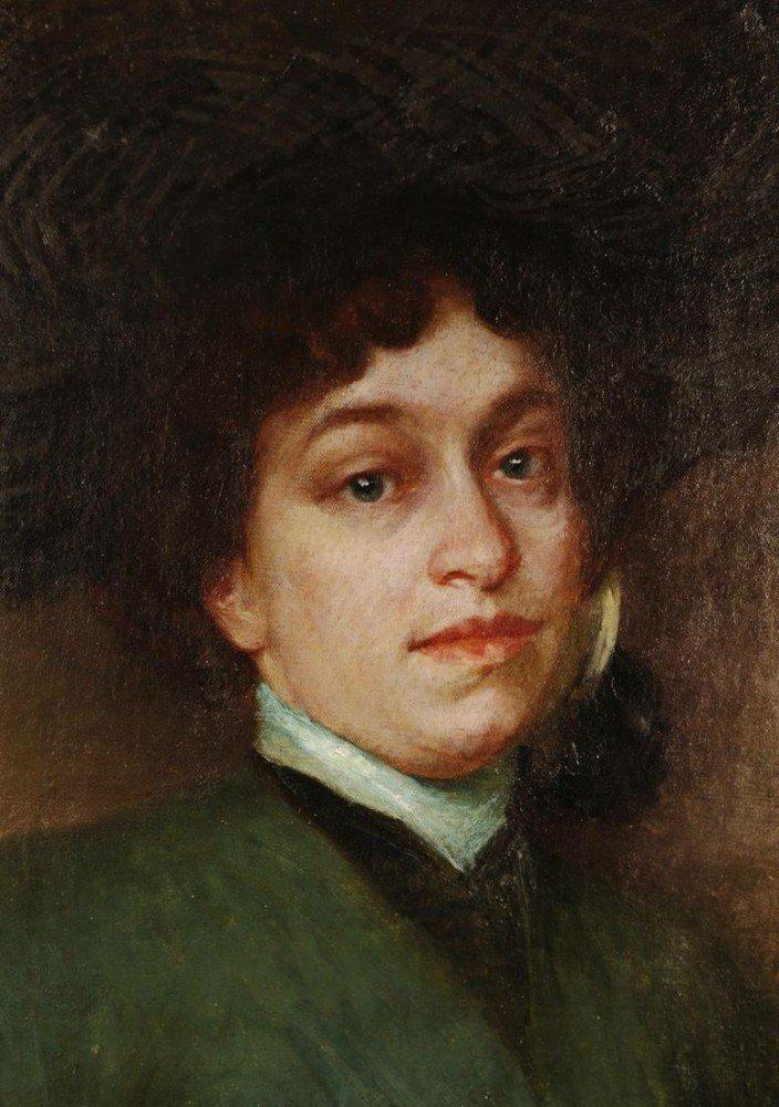 Portrait of a Woman by Eichhorn