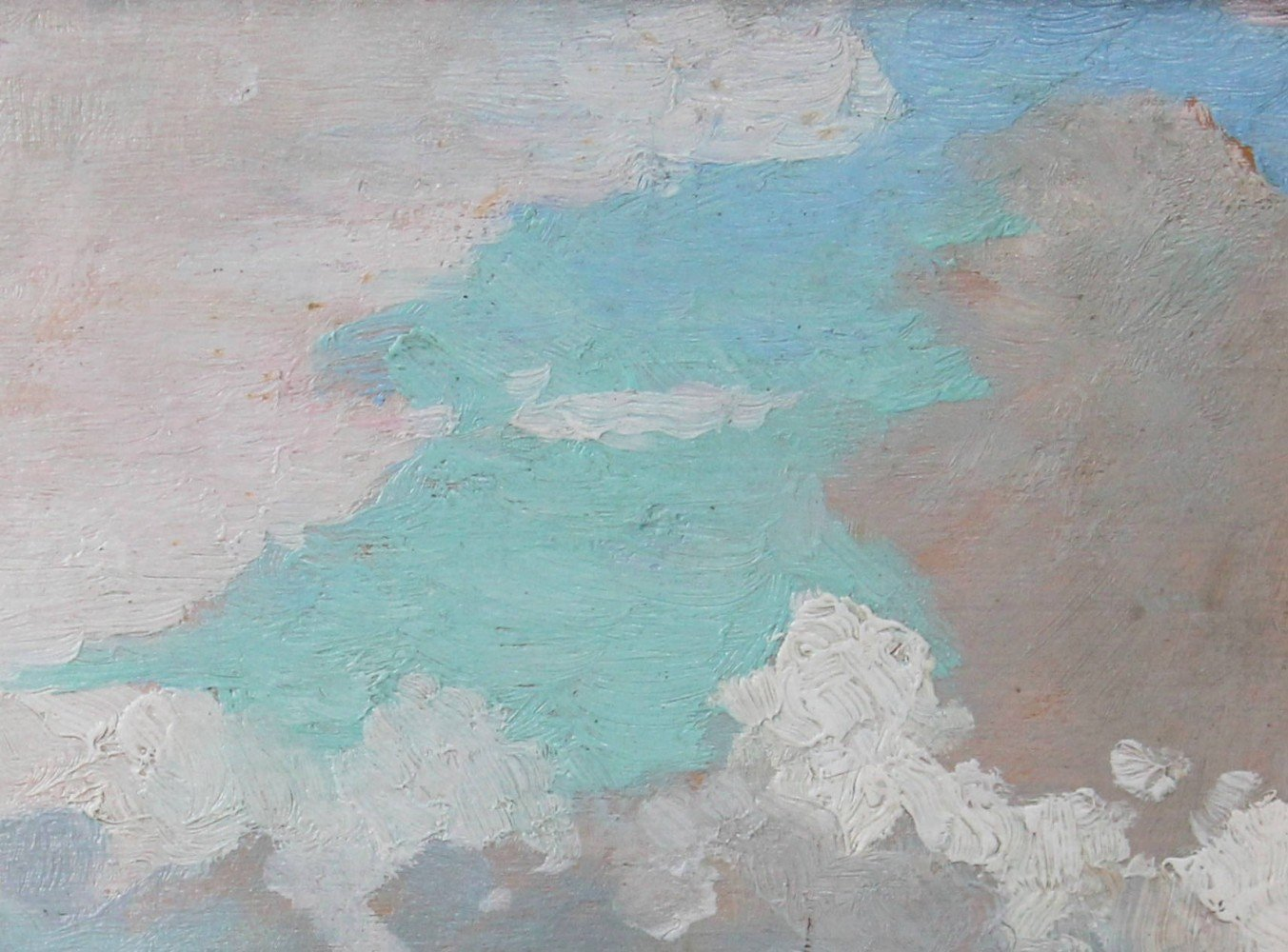 Clearing Clouds by Elisha Kent Kane Wetherill