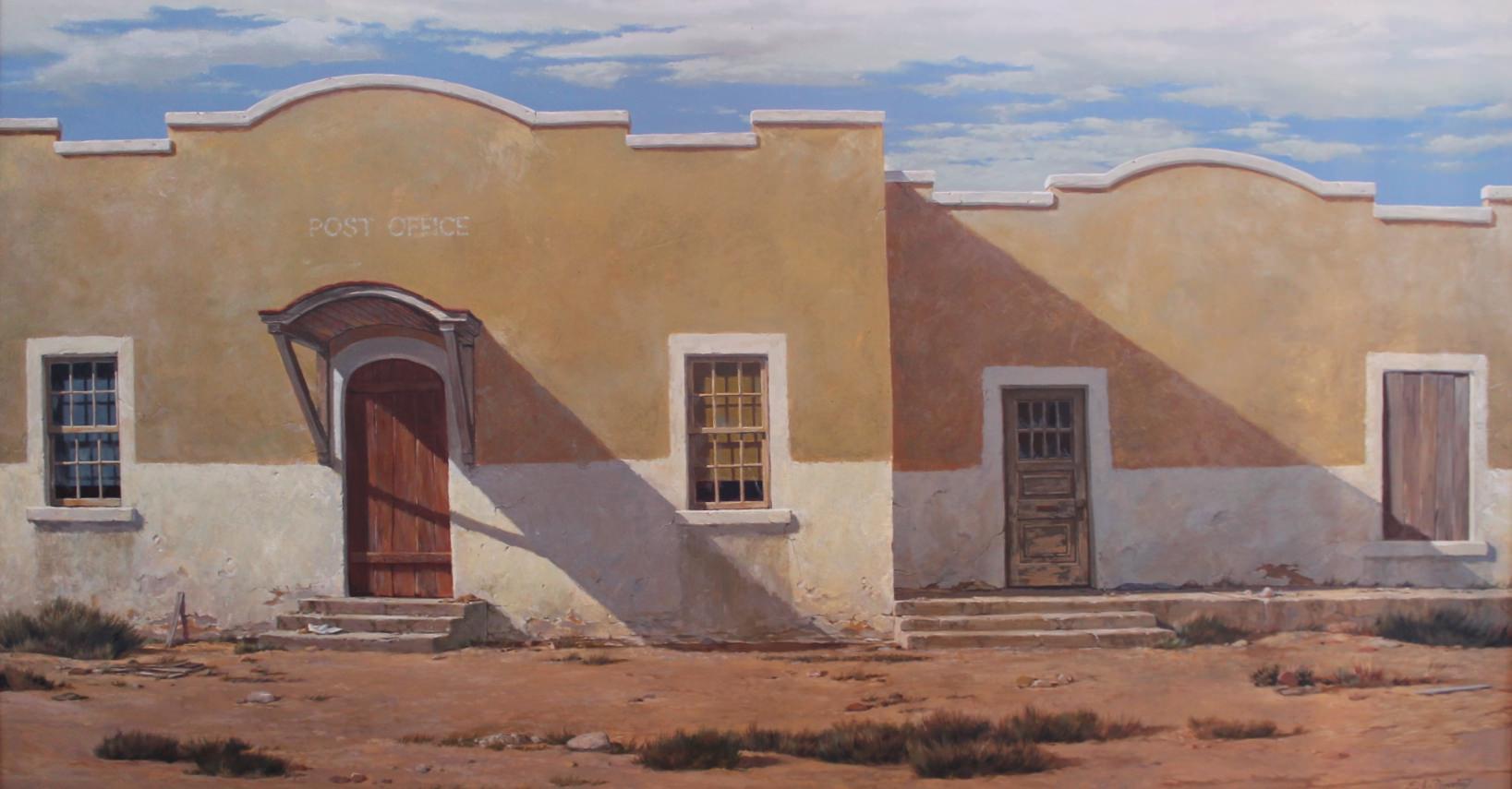 Ghost Post Office  by Elmer Ladislaw Novotny