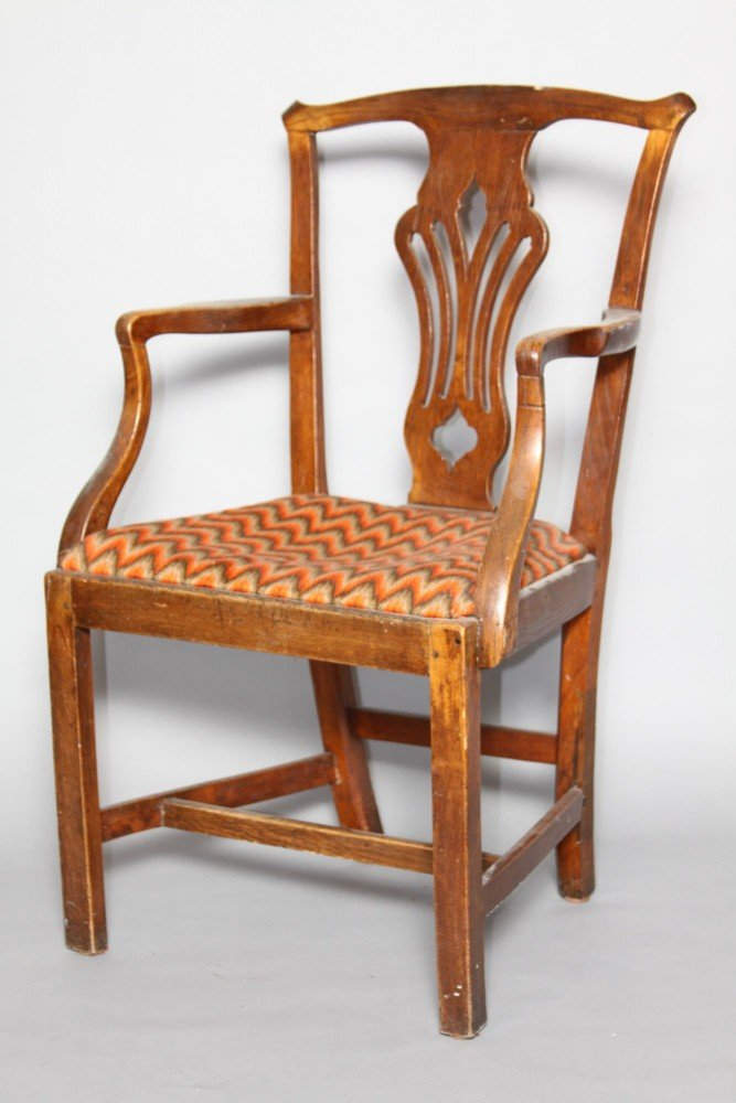 An English Country Oak Armchair