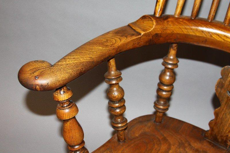 An English Oak Windsor Chair
