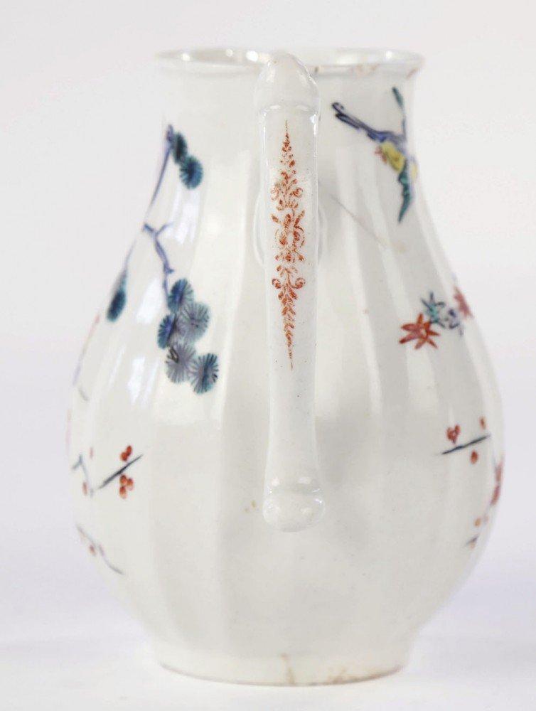 Worcester Kakiemon Pattern Cream Jug by 18thc. British School