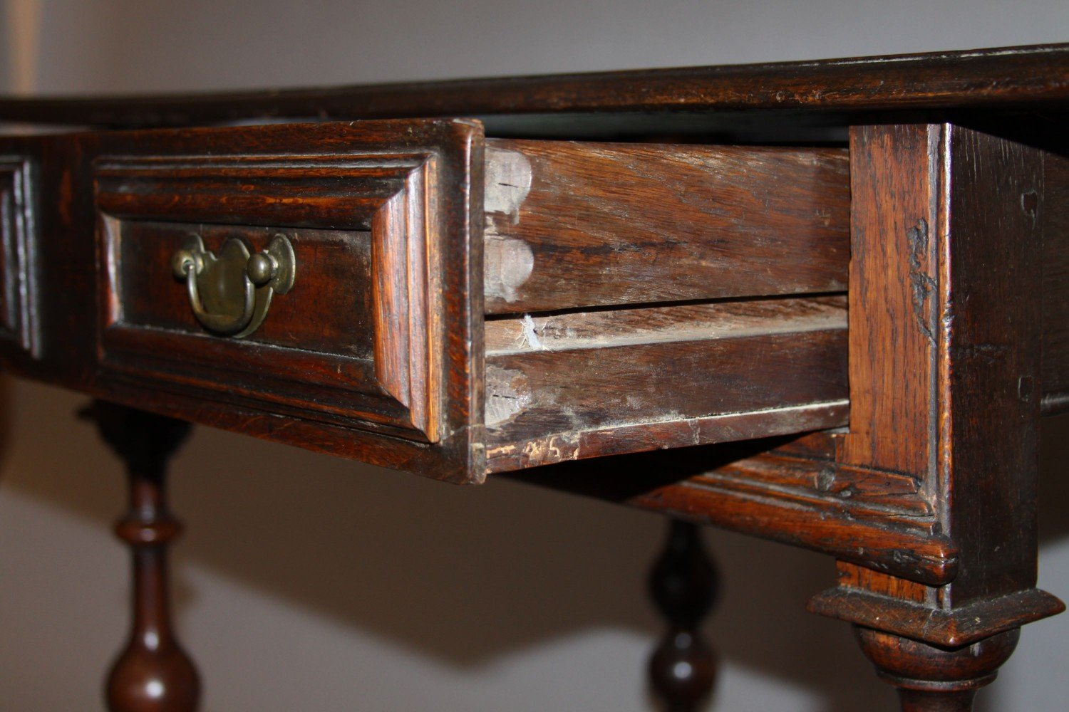 An English William and Mary Side Table