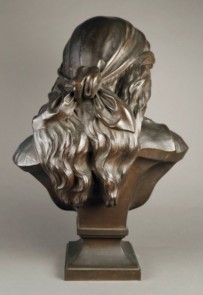 Bust of Mignon by Eugene Antoine Aizelin