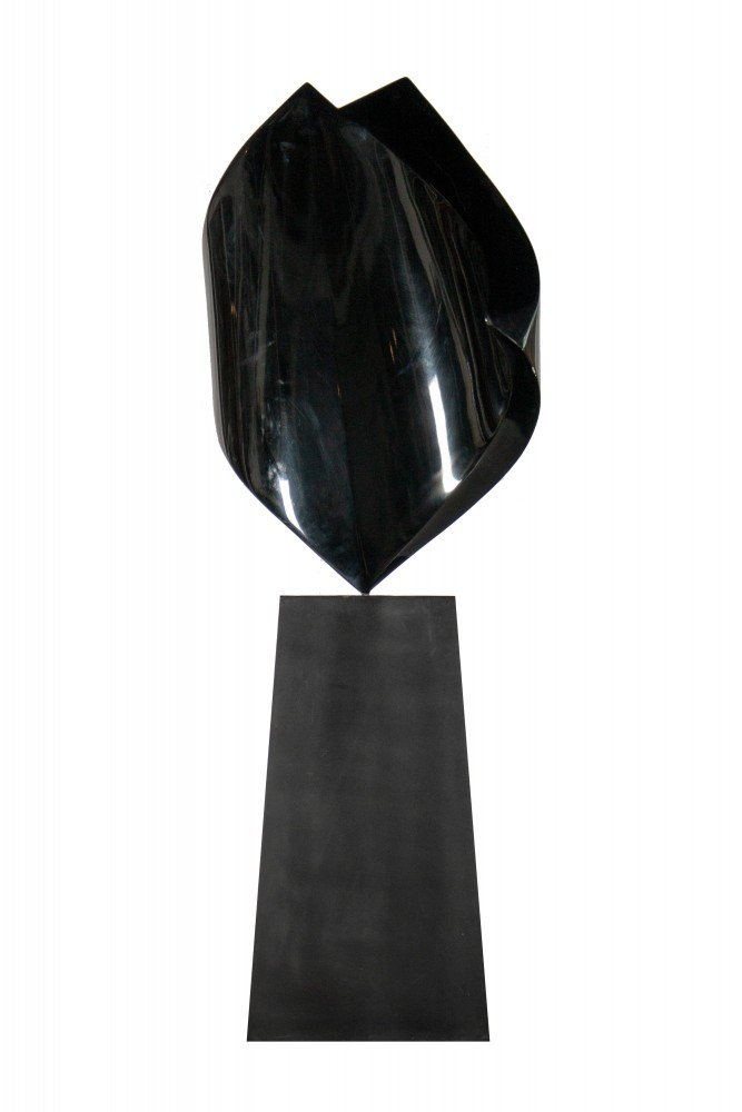 Untitled, Black by Fred Schmidt