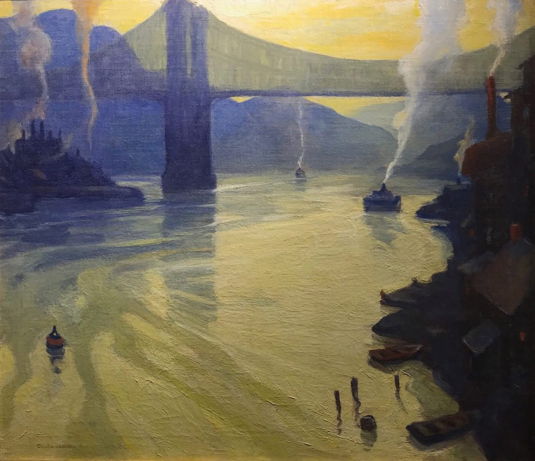 The Allegheny River by Carl Frederick Gaertner