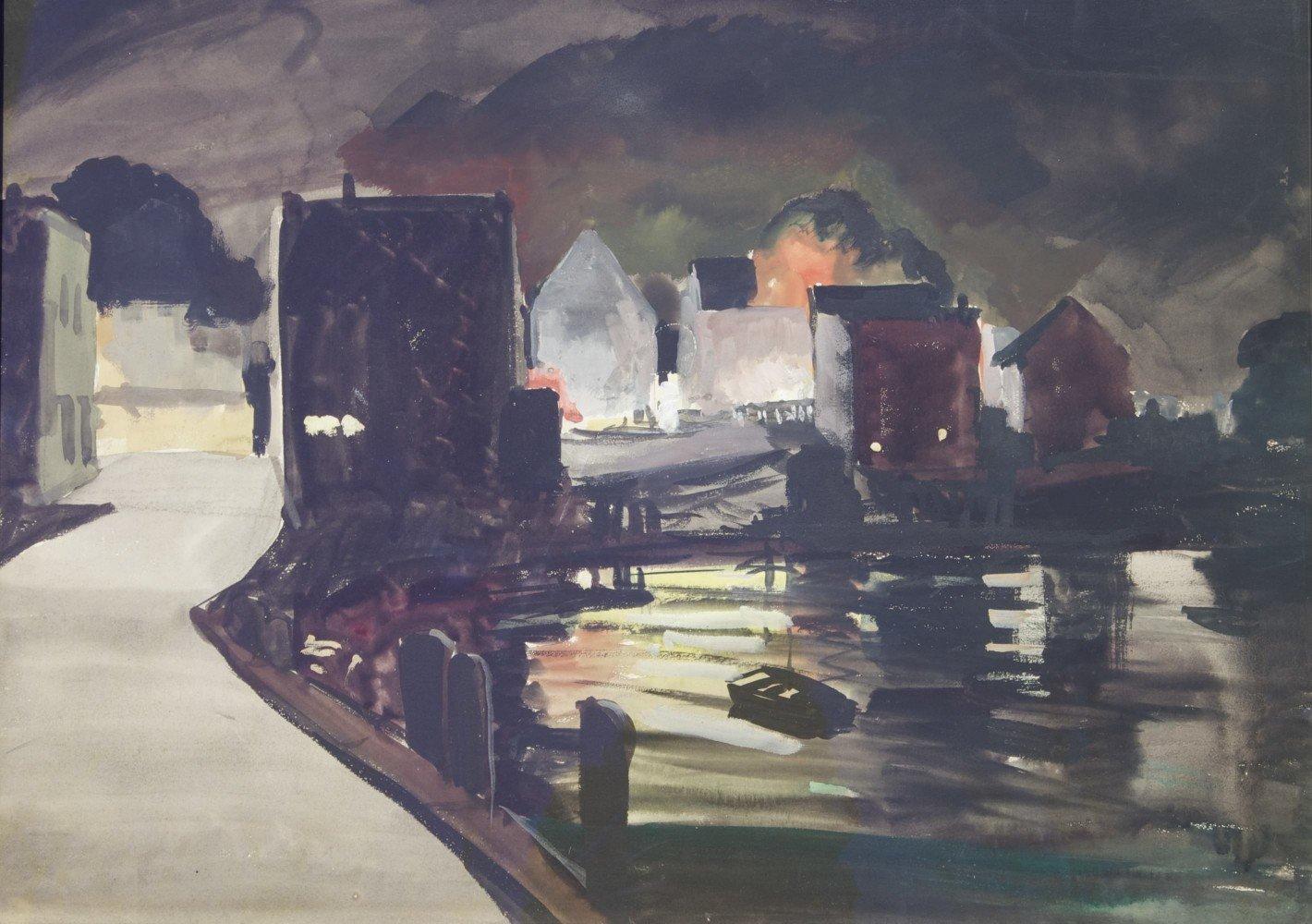 Mill Reflections by Carl Frederick Gaertner