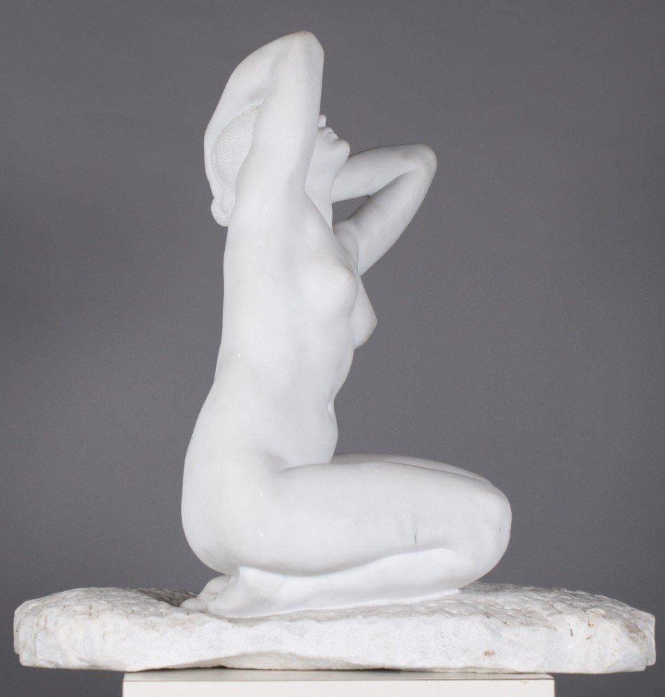 Figurative Marble Sculpture: