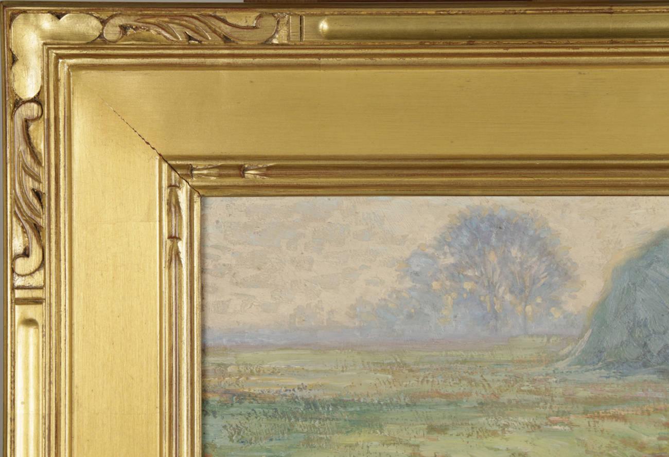 Landscape with Haystack on the Old John D.Rockefeller Property, Cleveland by George Gustav Adomeit