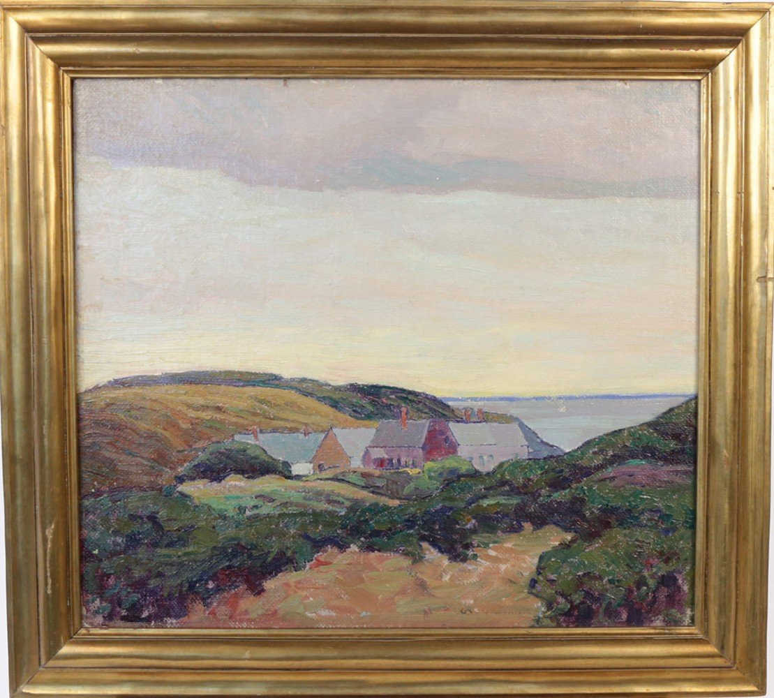 Monhegan, Maine by George Gustav Adomeit