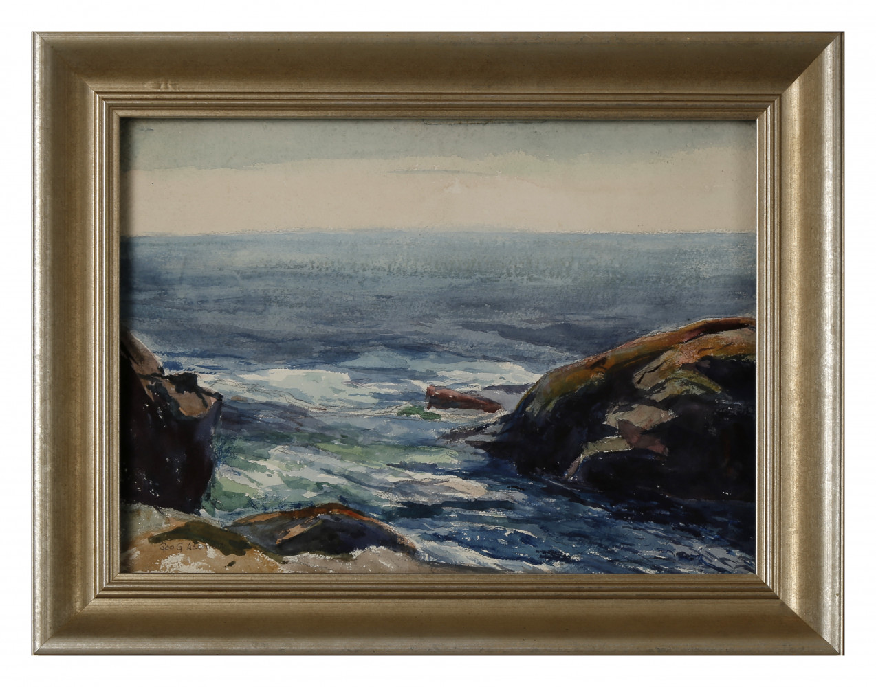Monhegan Coast, Maine by George Gustav Adomeit