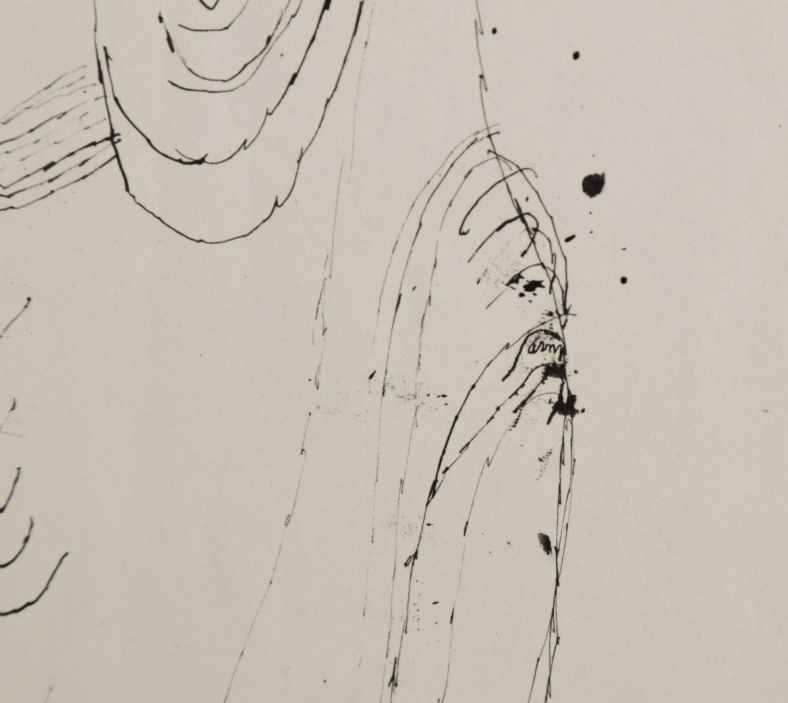 Figure in Ostia by Joseph Glasco