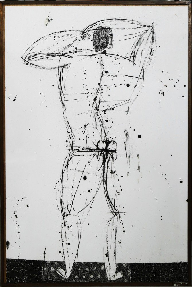 Male Standing Man (Nikos) by Joseph Glasco