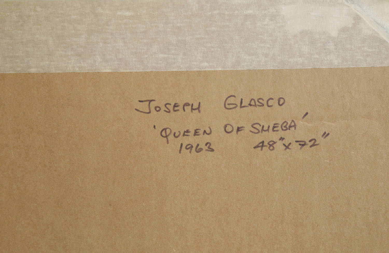 Queen of Sheba by Joseph Glasco