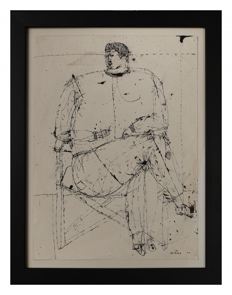 Seated Figure by Joseph Glasco