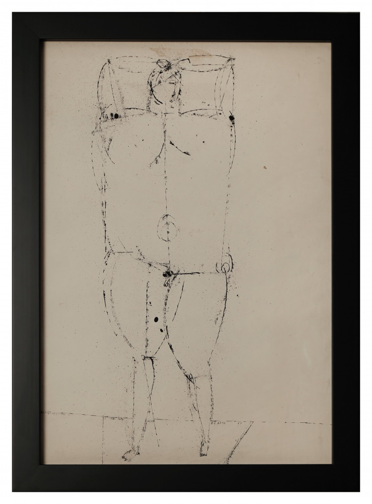 Standing Figure by Joseph Glasco
