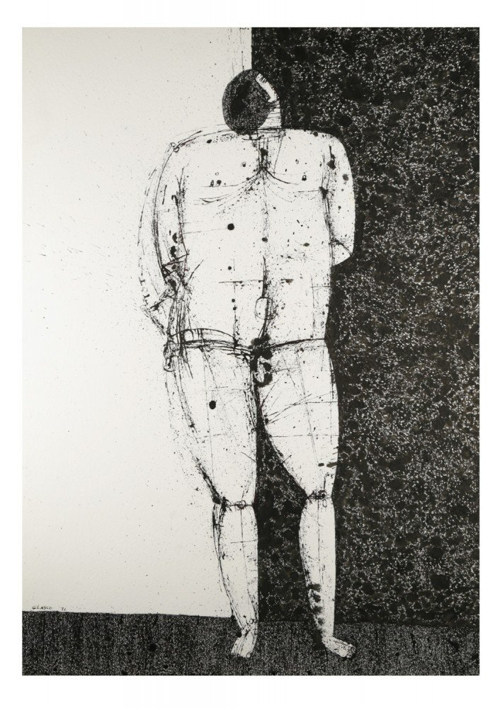 Standing Man by Joseph Glasco