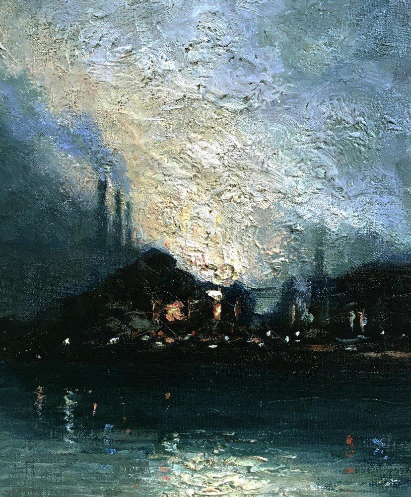 U.S. Steel Mills, Pittsburgh by Aaron Harry Gorson