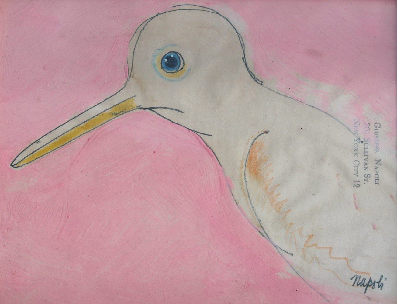 Long Beaked Bird by Giuseppe Napoli
