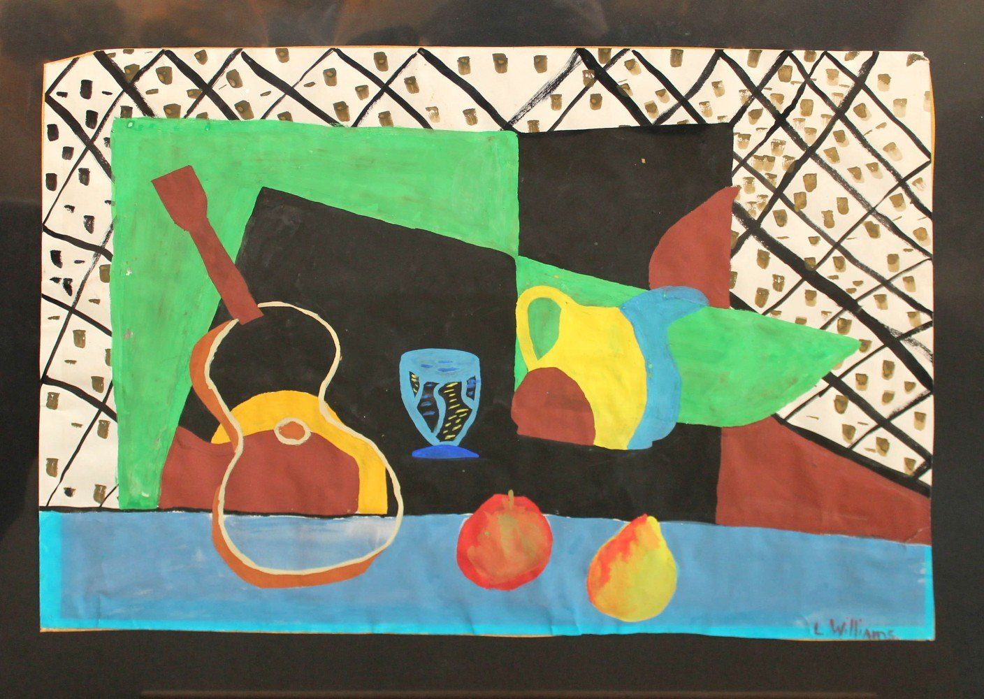 Early 20th Century Still Life after Braque