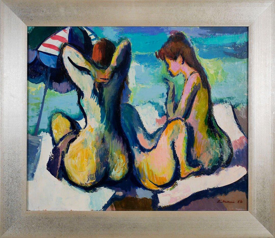 Three Bathers by Gustav Likan