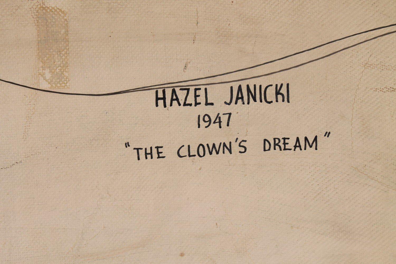 The Clown's Dream by Hazel Janicki