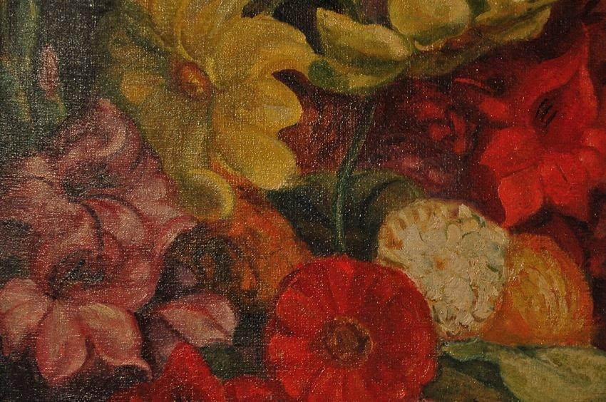Still Life, Summer Flowers by Henry George Keller