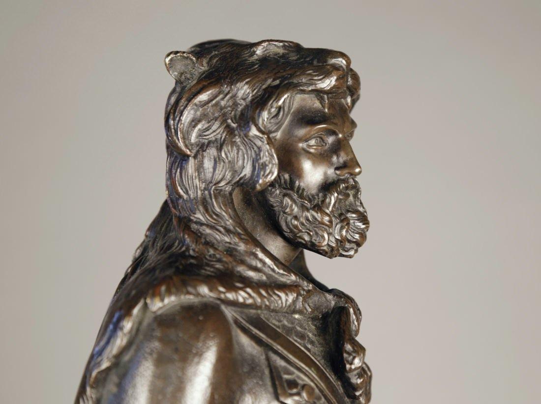 Bronze Figure of Hercules by 19th Century Italian School