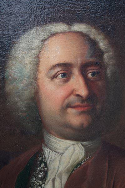 17thc. Continental School Portrait of Christianus Wolffius