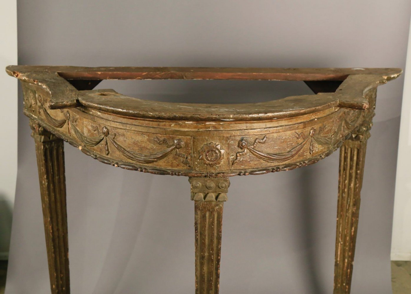 An Italian Neoclassical Console Table, 18thc.